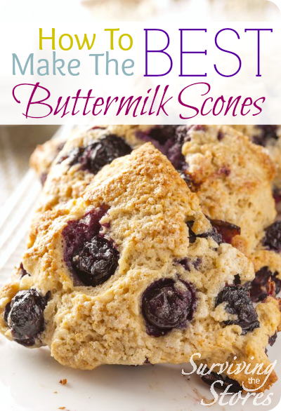 The BEST Buttermilk Scones Recipe!!