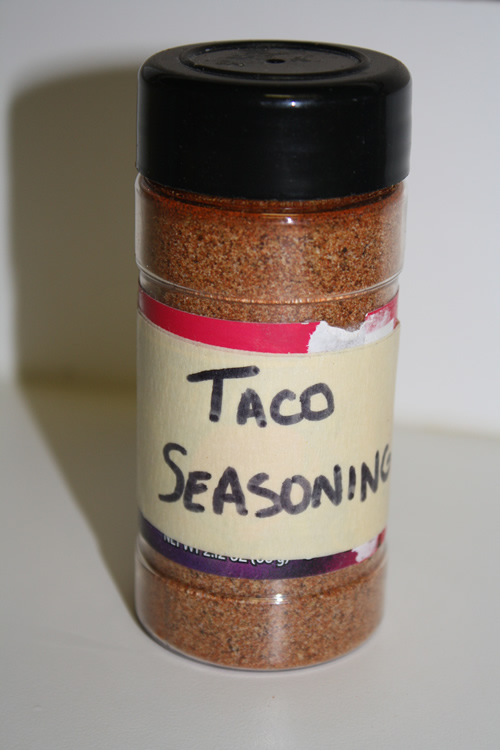 Homemade Taco Seasoning 2