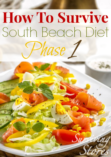 South Beach Diet Phase 1