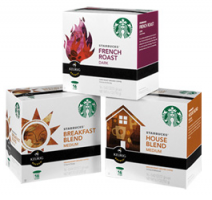Starbucks K-Cups Boxes