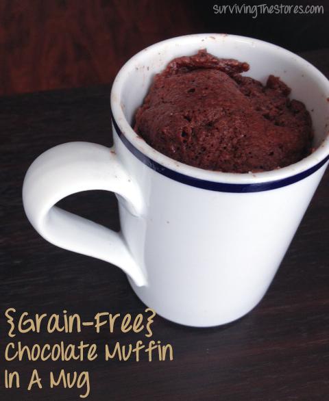Grain Free Chocolate Mug Muffin