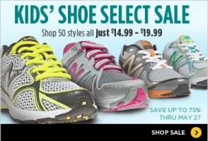 New Balance Kids Shoes Sale: As Low as 14.99!!