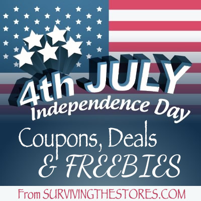 4th Of July Coupons Freebies Deals