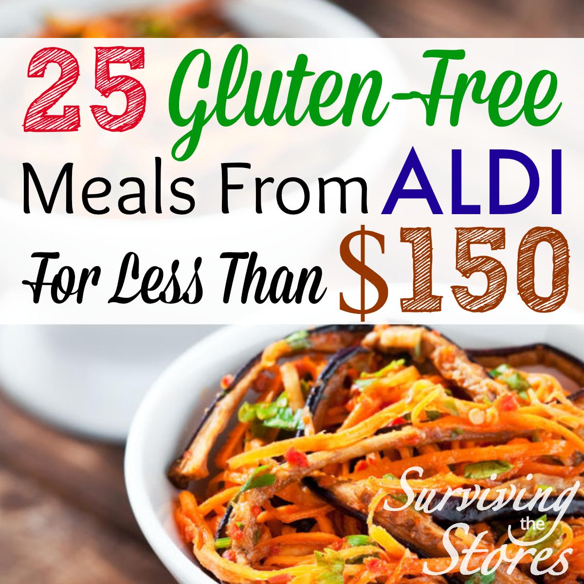 ALDI Gluten-Free Meal Plans!!