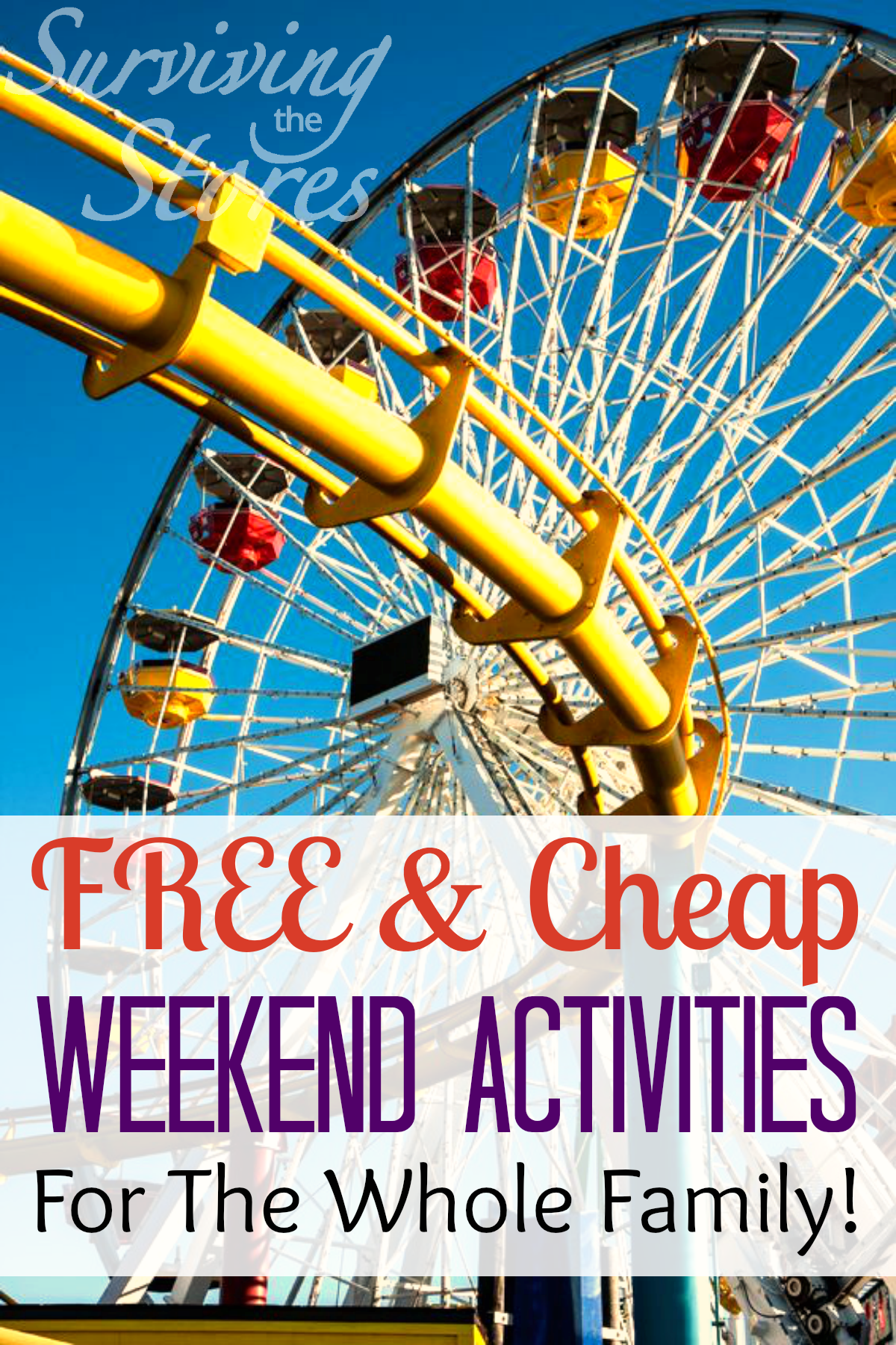 Free Weekend Activities For The Whole Family