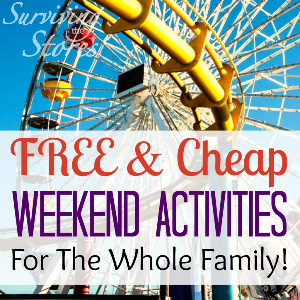 Free and Cheap Weekend Activities