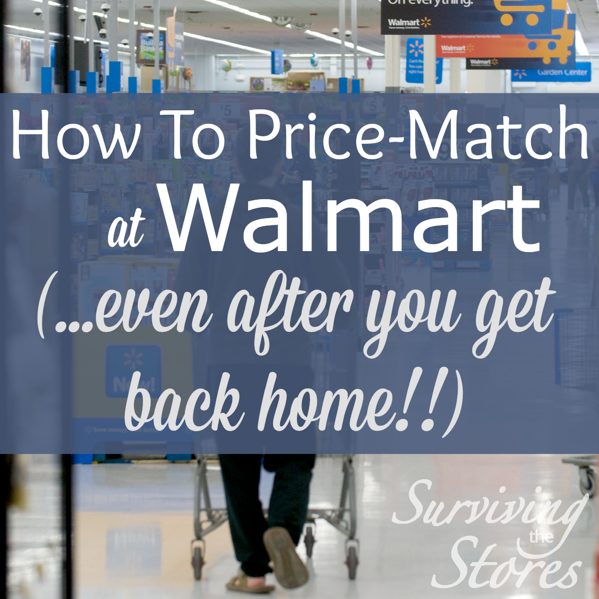 Price Matching at Walmart