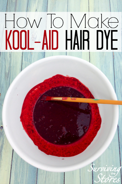 How To Dye Hair With Kool-Aid! - Surviving The Stores™