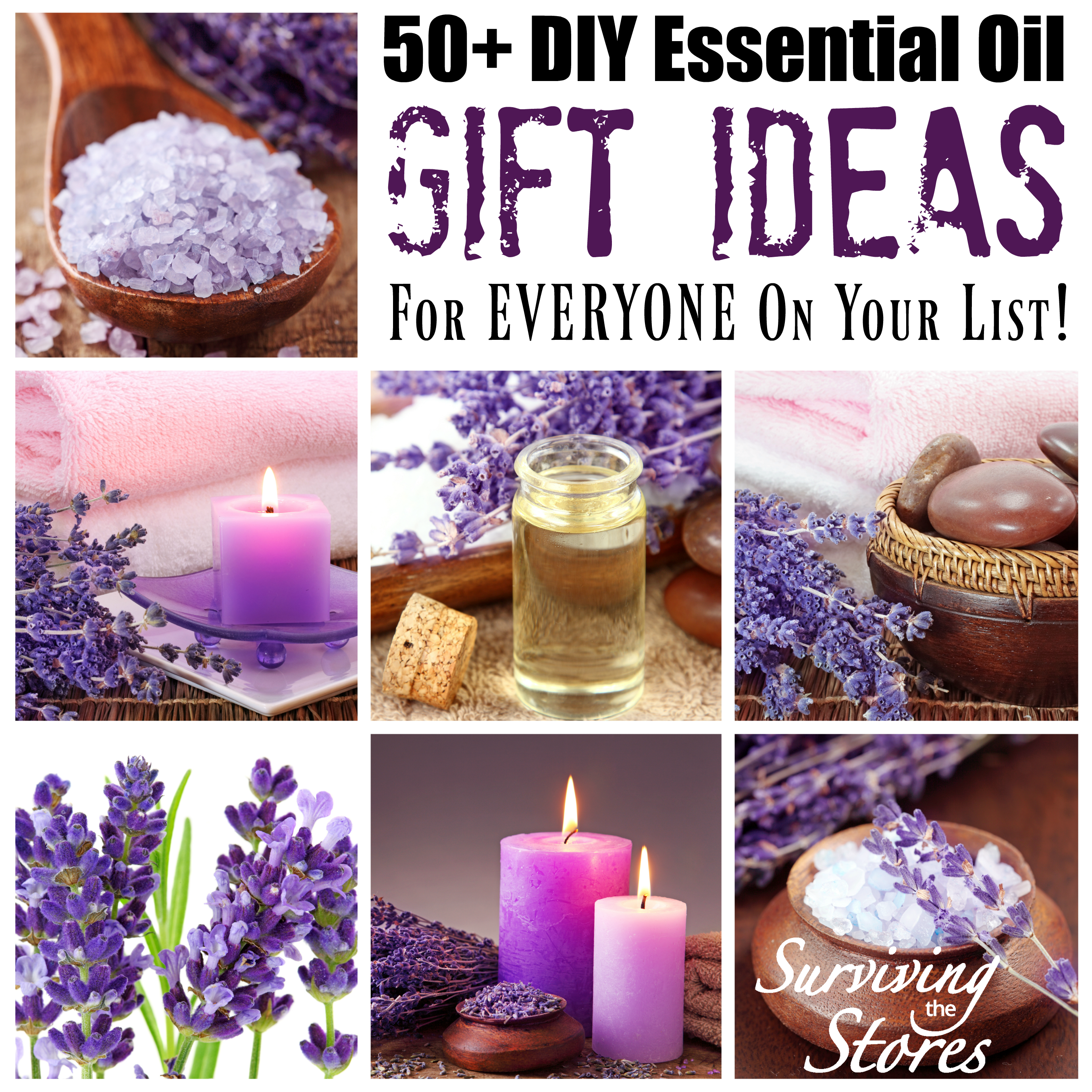 Essential Oil DIY Gift Ideas For Everyone On Your List!!