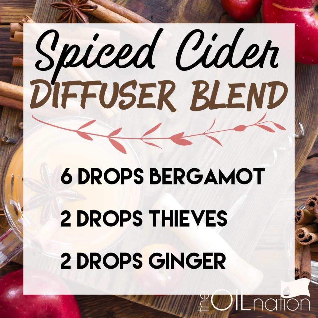 Spiced Cider Fall Diffuser Blend Essential Oils